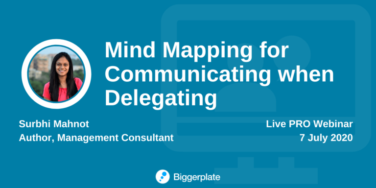 Webinar: Mind mapping for communicating when delegating